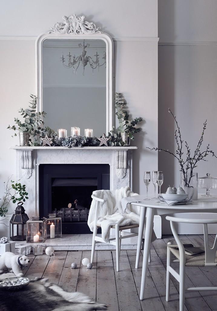 White Christmas decorating tips
