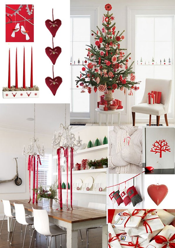 holiday red christmas style xmas christmas decorations nordic christmas christmas - Nordic Style Christmas Decorations