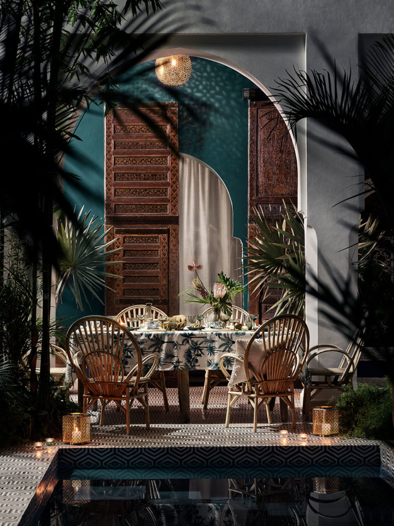 Top Summer Styling ideas for the Garden by london based interior stylist Pippa Jameson, Image H&M Home