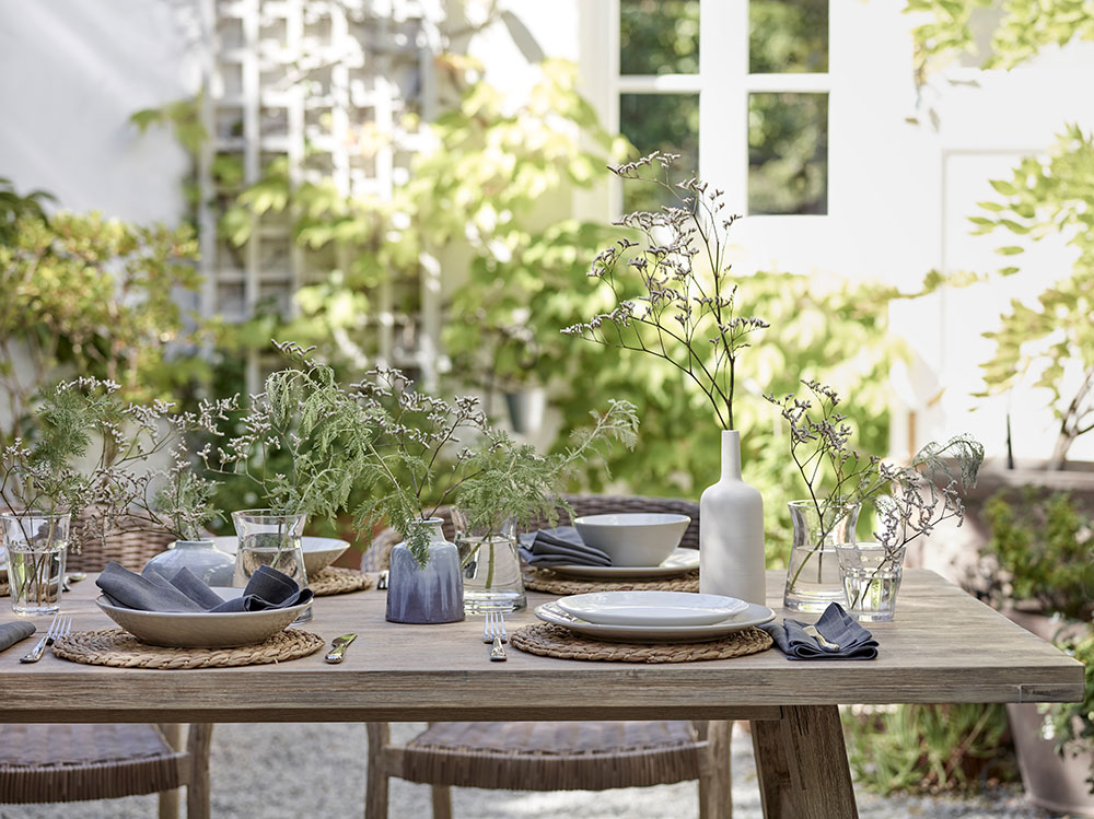 Top Summer Styling ideas for the Garden by london based interior stylist Pippa Jameson, Image John Lewis